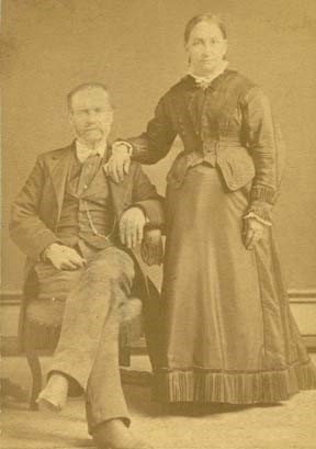 James B. (Beatty) and Lucinda Mahaffie
